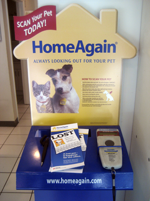 Home Again Pet Microchip